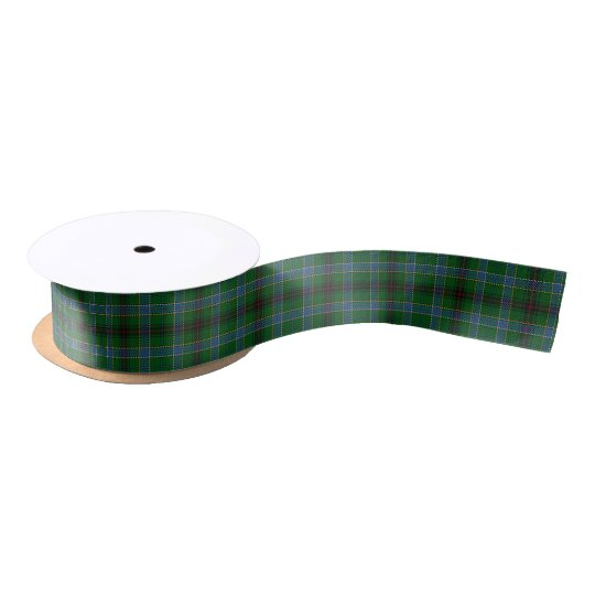 Scottish Clan Duncan Classic Tartan Satin Ribbon
