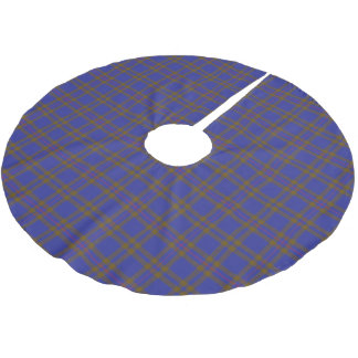 Scottish Clan Elliot Elliott Tartan Brushed Polyester Tree Skirt