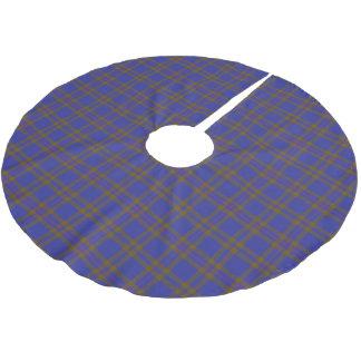 Scottish Clan Elliot Elliott Tartan Brushed Polyester Tree Skirt