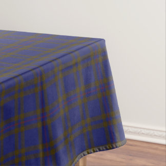Scottish Clan Elliot Elliott Tartan Tablecloth