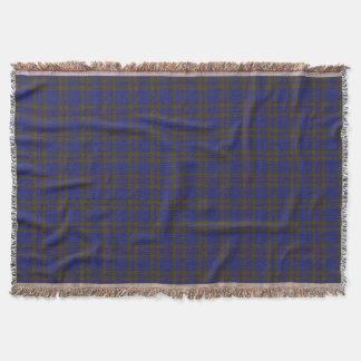 Scottish Clan Elliot Elliott Tartan Throw Blanket