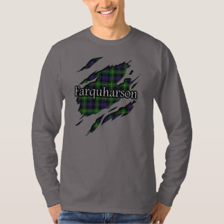 Scottish Clan Farquharson Tartan Spirit T-Shirt