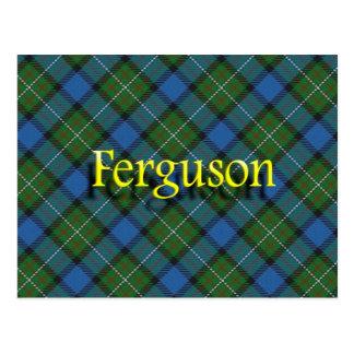 Scottish Clan Ferguson Postcard