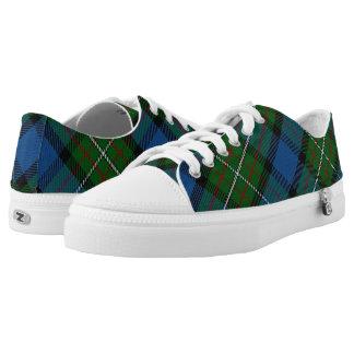 Scottish Clan Fergusson Ferguson Tartan Low-Top Sneakers