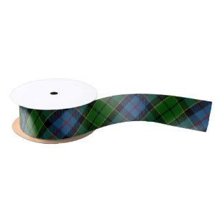 Scottish Clan Forsyth Forsythe Classic Tartan Satin Ribbon