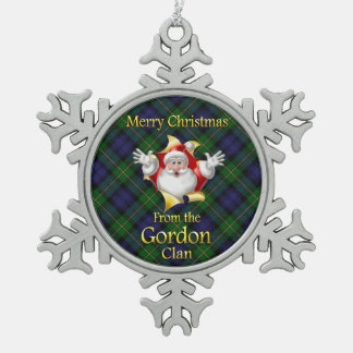 Scottish Clan Gordon Christmas Ornament