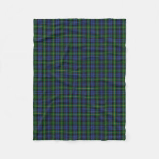 Scottish Clan Gordon Classic Tartan Fleece Blanket