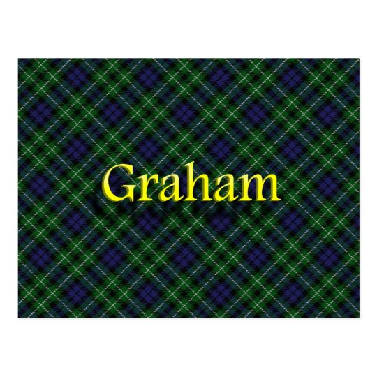 Scottish Clan Graham Postcard