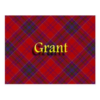 Scottish Clan Grant Postcard