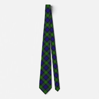 Scottish Clan Gunn Tartan Tie