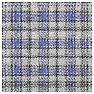 Scottish Clan Hannay White Blue Tartan Fabric