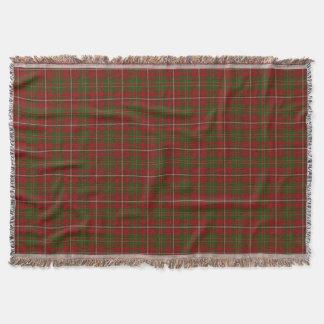 Scottish Clan Hay Tartan Throw Blanket