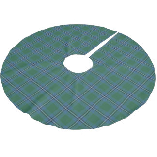 Scottish Clan Irvine Irwin Tartan Brushed Polyester Tree Skirt