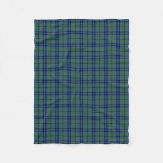 Scottish Clan Keith Classic Tartan Fleece Blanket