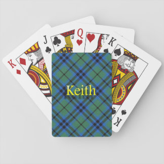 Scottish Clan Keith Playing Cards