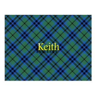 Scottish Clan Keith Postcard