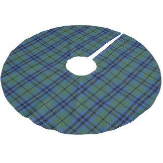 Scottish Clan Keith Tartan Brushed Polyester Tree Skirt