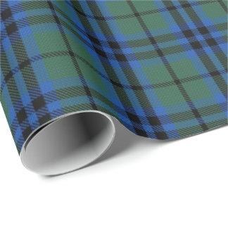 Scottish Clan Keith Tartan Wrapping Paper