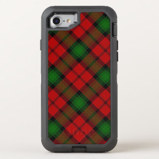 Scottish Clan Kerr Red and Green Tartan OtterBox Defender iPhone 8/7 Case