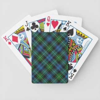 Scottish Clan Lamont Tartan Deck Bicycle Playing Cards