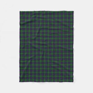 Scottish Clan Leslie Hunting Classic Tartan Fleece Blanket