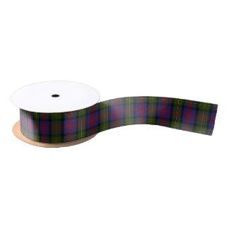 Scottish Clan Logan Classic Tartan Satin Ribbon