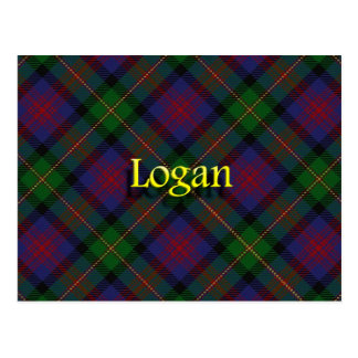 Scottish Clan Logan Postcard