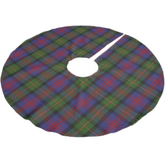 Scottish Clan Logan Tartan Brushed Polyester Tree Skirt