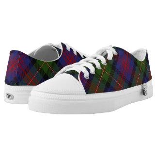 Scottish Clan Logan Tartan Low-Top Sneakers