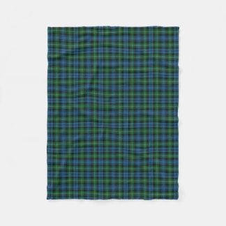 Scottish Clan Lyon Classic Tartan Fleece Blanket