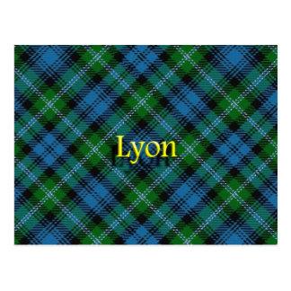 Scottish Clan Lyon Postcard