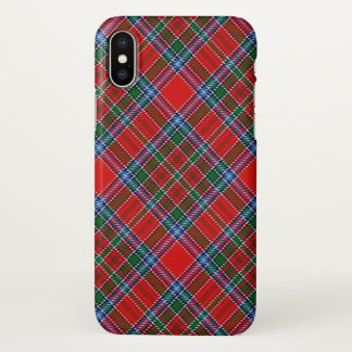 Scottish Clan MacBean Tartan Plaid iPhone X Case