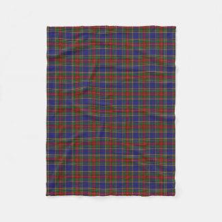 Scottish Clan MacBeth Classic Tartan Fleece Blanket