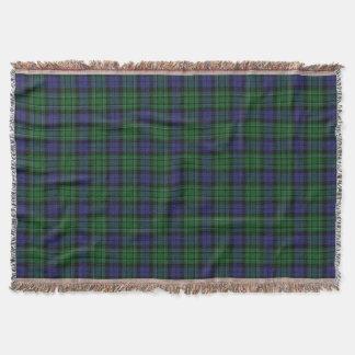 Scottish Clan MacCallum Tartan Throw Blanket