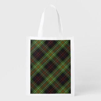 Scottish Clan MacDiarmid Family Tartan Reusable Grocery Bag