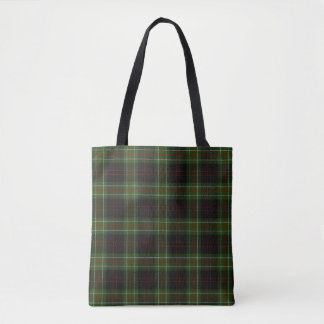 Scottish Clan MacDiarmid Tartan Plaid Tote Bag