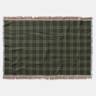 Scottish Clan MacDiarmid Tartan Throw Blanket