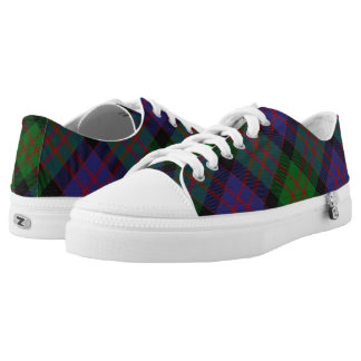 Scottish Clan MacDonald Donald Tartan Low-Top Sneakers