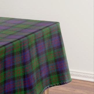 Scottish Clan MacDonald Donald Tartan Tablecloth