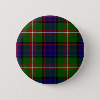 Scottish Clan MacDonald of Clanranald Tartan 2 Inch Round Button