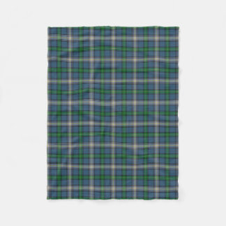 Scottish Clan MacDowall McDowell Classic Tartan Fleece Blanket