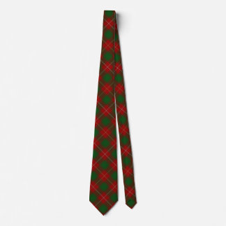 Scottish Clan MacDuffee Tartan Tie