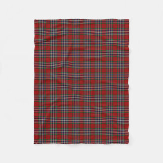 Scottish Clan MacFarlane Classic Tartan Fleece Blanket