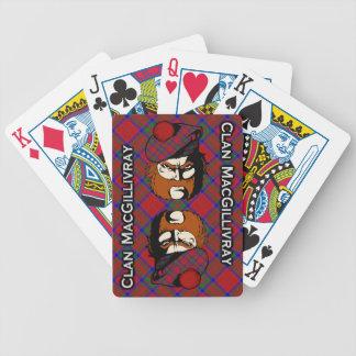 Scottish Clan MacGillivray Tartan Deck Poker Deck