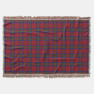 Scottish Clan MacGillivray Tartan Throw Blanket