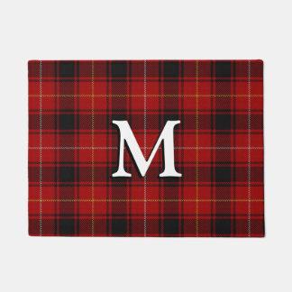 Scottish Clan MacIver Tartan Doormat