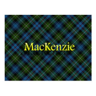 Scottish Clan MacKenzie Postcard