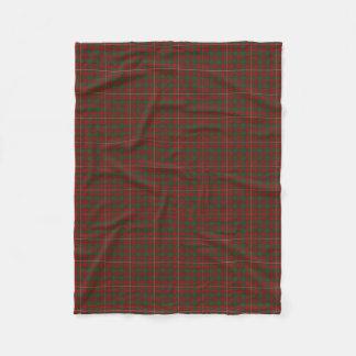 Scottish Clan MacKinnon Classic Tartan Fleece Blanket