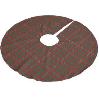 Scottish Clan MacKinnon Tartan Brushed Polyester Tree Skirt