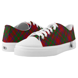 Scottish Clan MacKintosh McIntosh Tartan Low-Top Sneakers